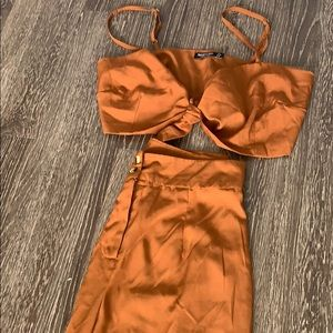 "Matching ""Satin"" Set"